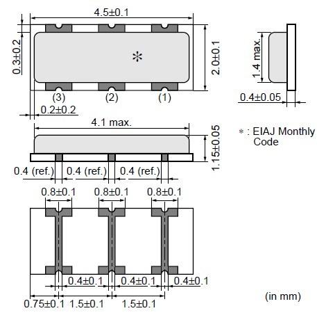 你可以称呼它为石英晶振,石英晶体谐振器,石英晶体振荡器,压电晶体
