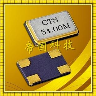 sa534晶振,5032m金属四脚谐振器,cts贴片晶振